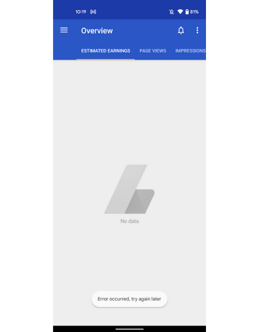 Google AdSense for Android app stops working fully shutdown by Google